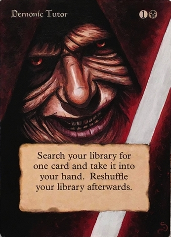 Demonic Tutor Star Wars
