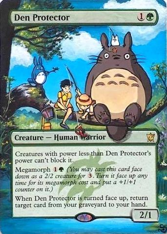 Den Protector Totoro