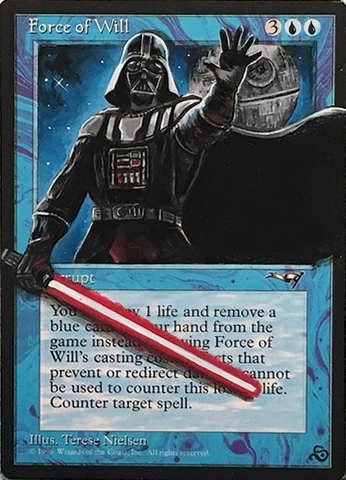 Force Of Will Star Wars
