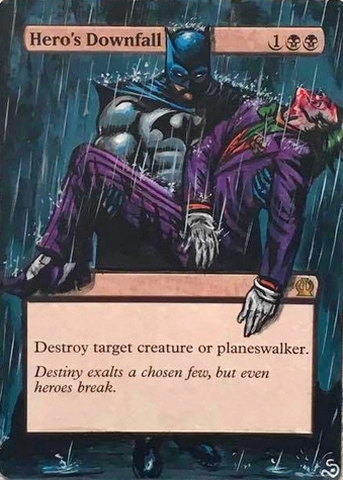 hero's Downfall Batman