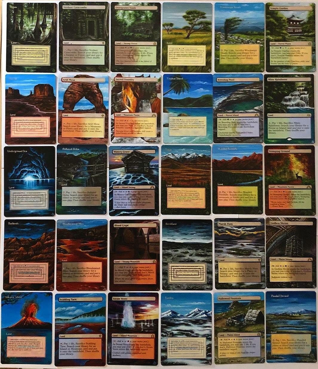 Dual Lands MTG