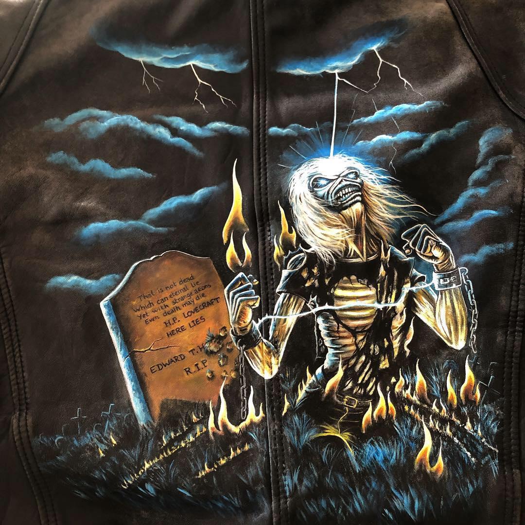 Iron Maiden Eddie Live After Death