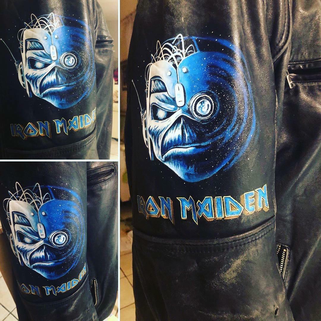 Iron Maiden Eddie Wasted Years