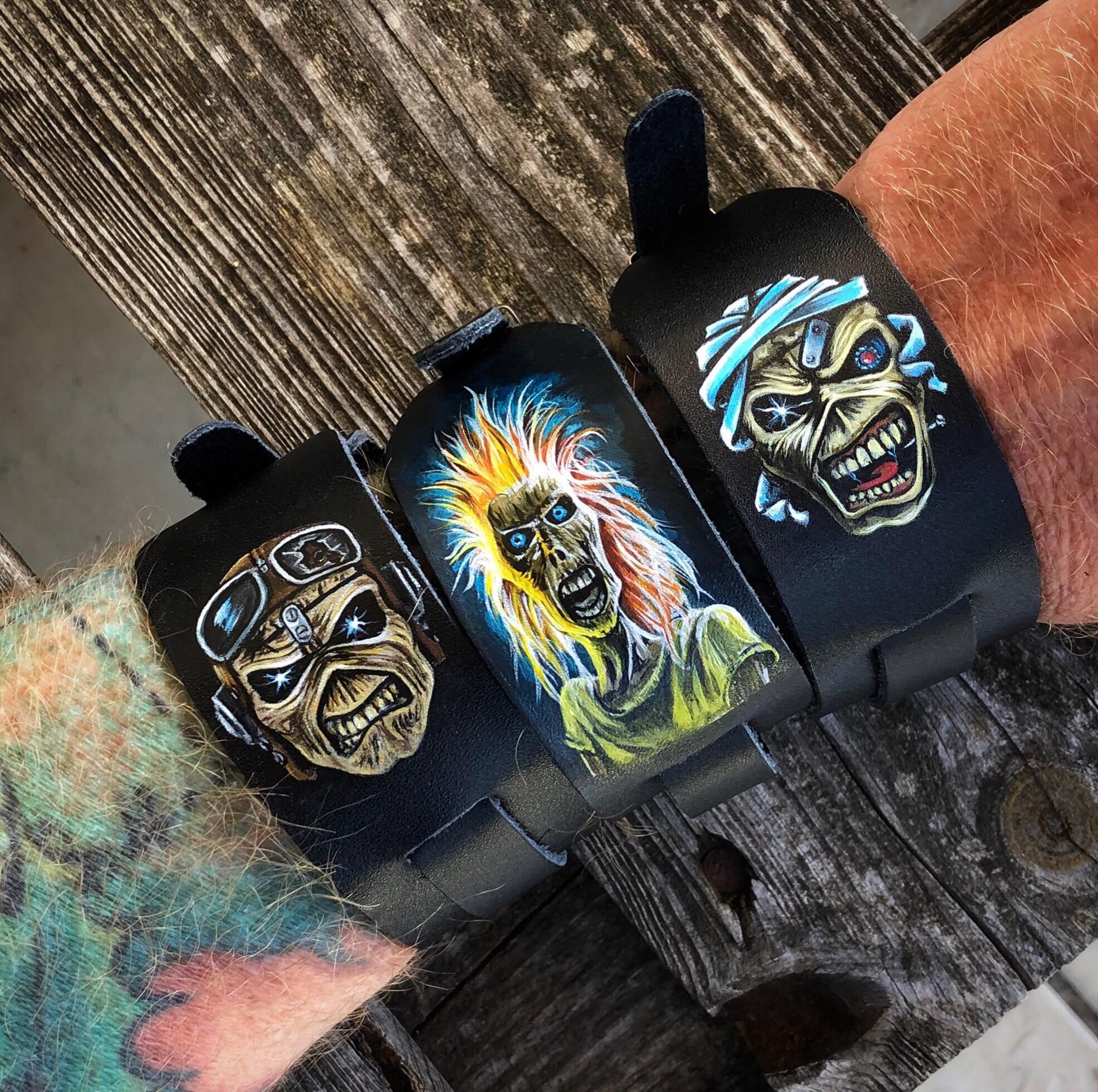 Iron Maiden Eddie wristband