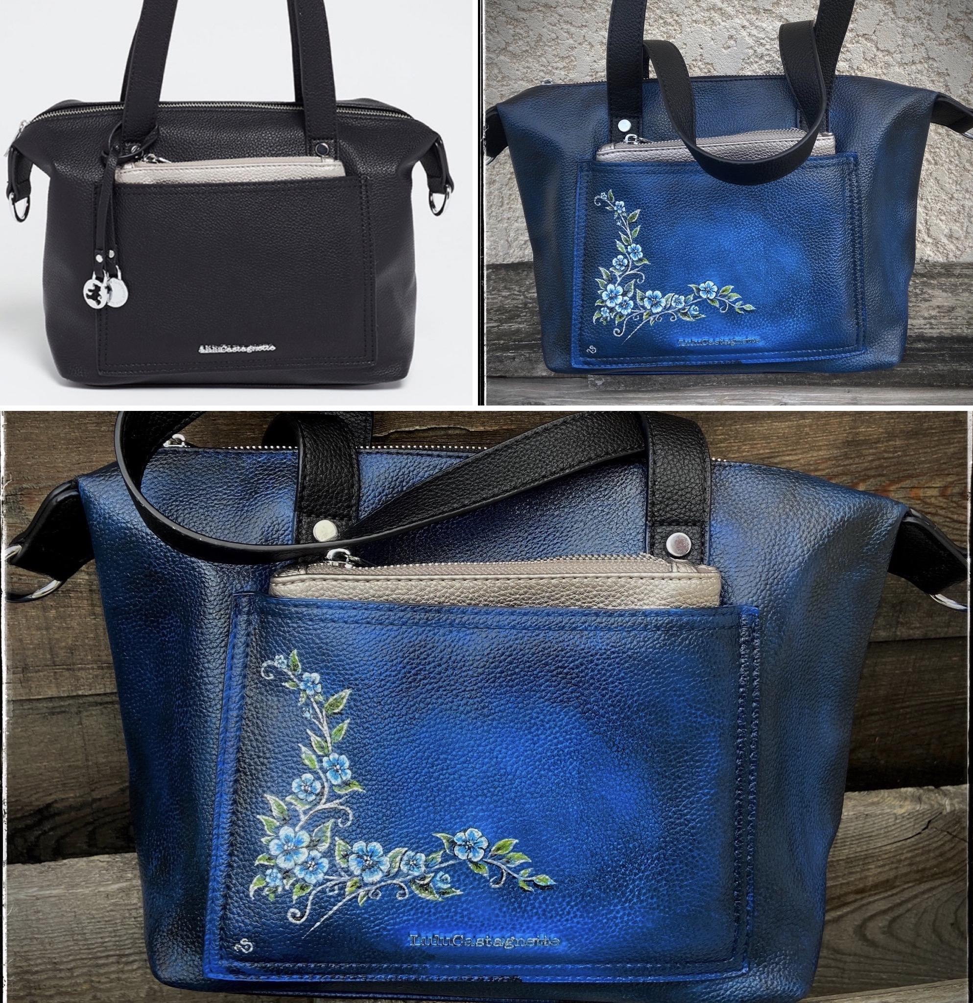 """""""Fleur Bleue"""" Bag"""