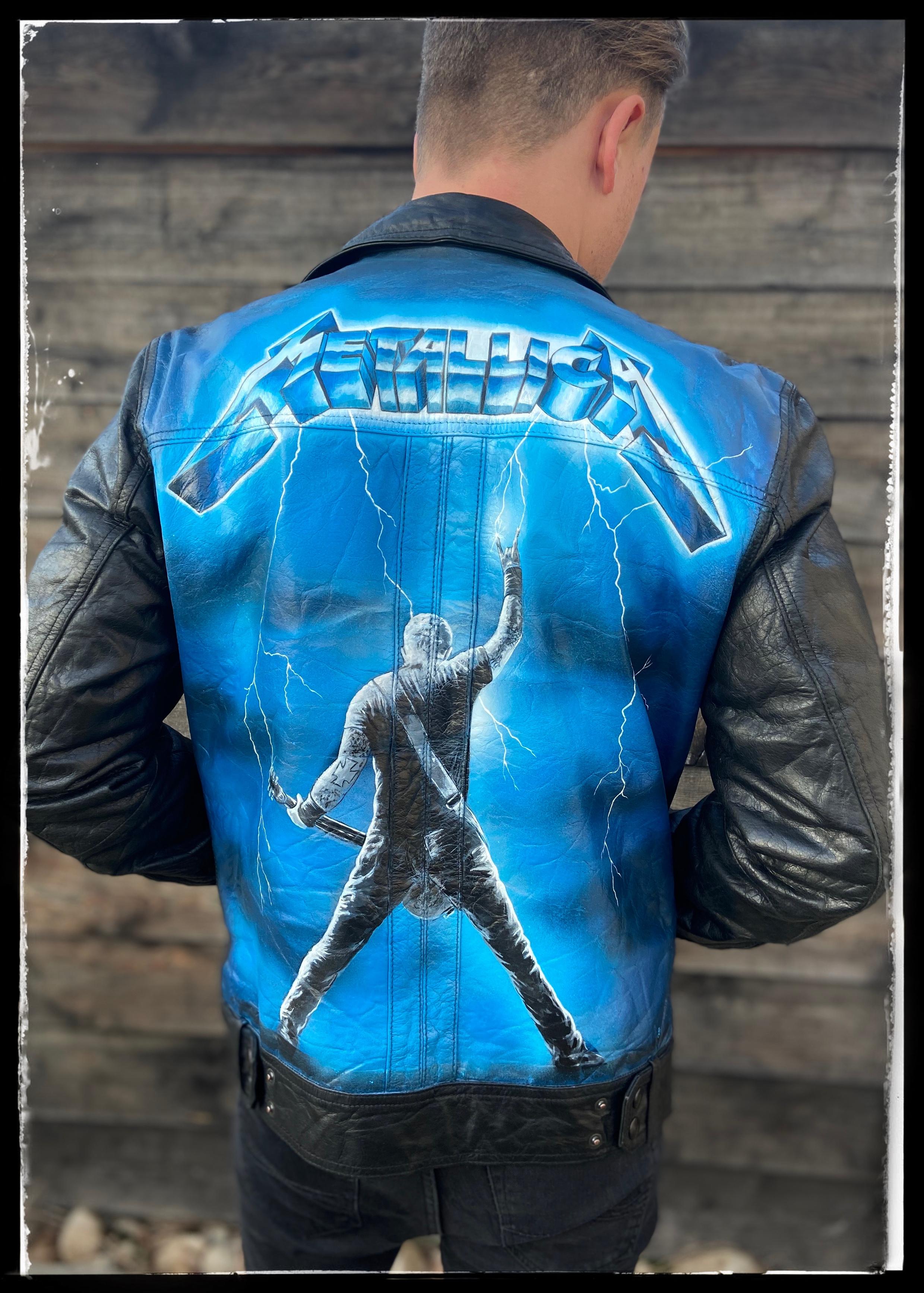 Metallica Ride The Lightning James Hetfield