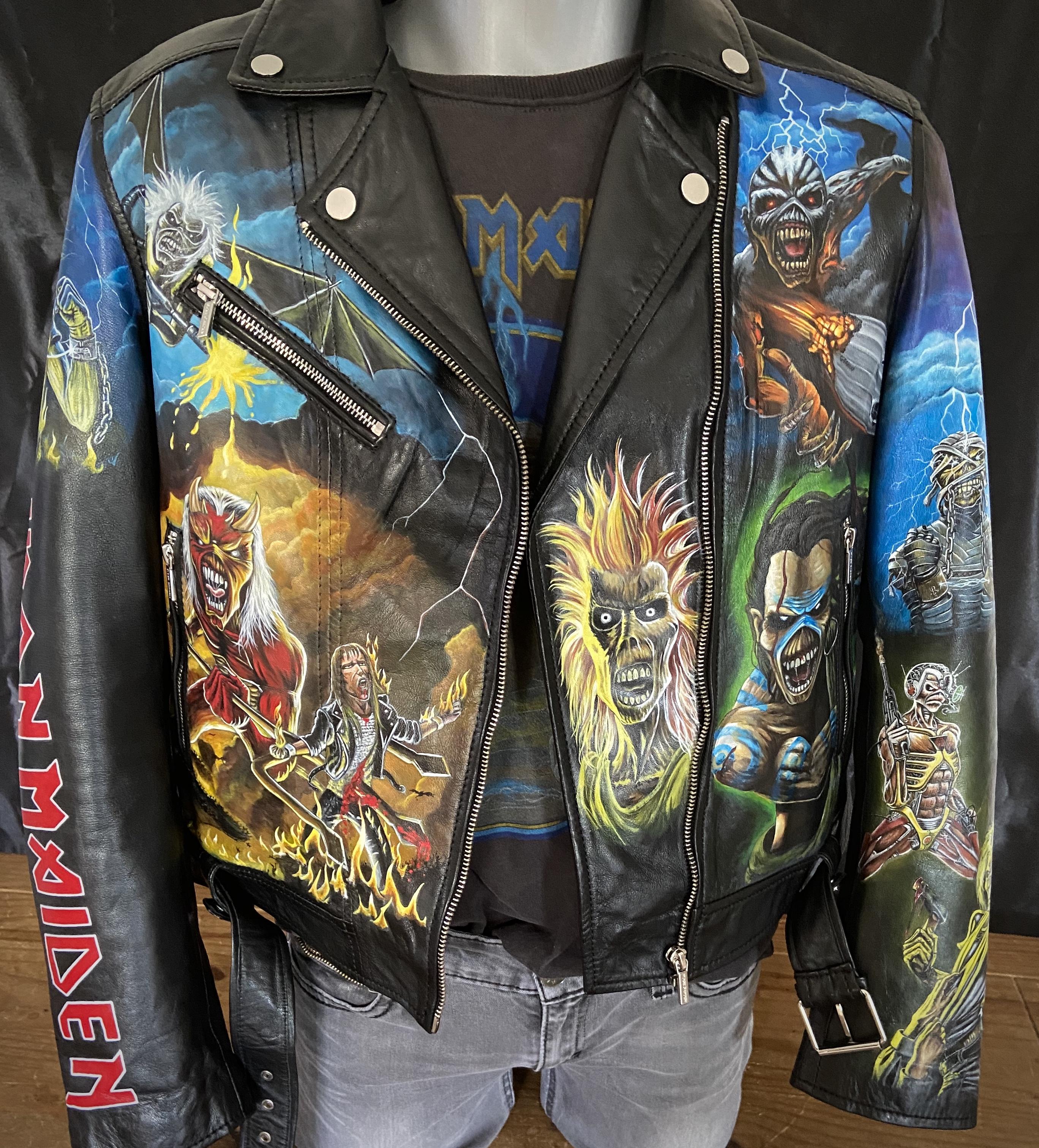 Iron Maiden Leather Jacket