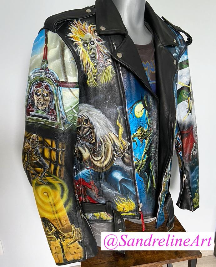 Iron Maiden jacket